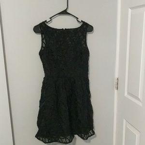 BB Dakota size 2 black daisy dress